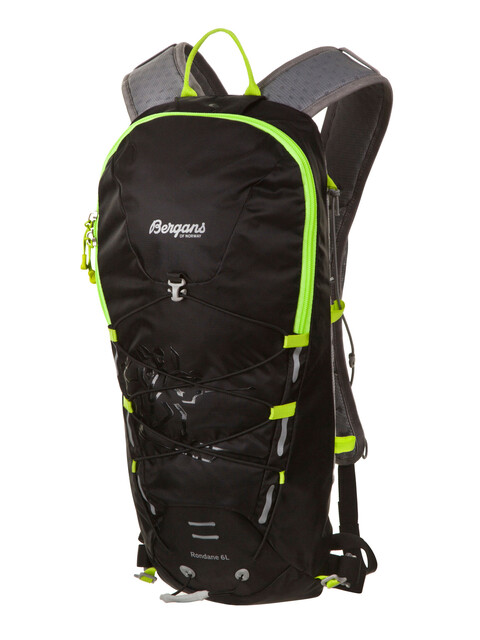 Bergans Rondane 6L Backpack Black/Neon Green